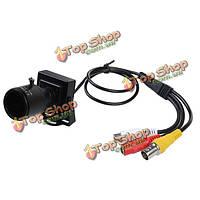 2.8-12мм в HD разрешение 600tvl безопасности аудио видео камеры CCTV цвета