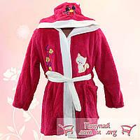 Детские махровые халаты производства Турция от 5 до 8 лет (4706-1)
