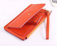 Женский кошелек клатч бумажник сумка визитница