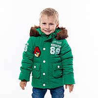 """Детская зимняя  куртка-парка """"Мегатон"""" для мальчишек"""