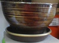 Горшок керамический Бонсайница