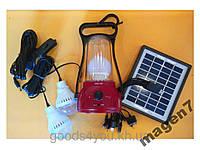 Солнечная система освещения GD Lite 8566,USB Акция