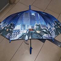 Зонт трость для мальчика Бэтмен
