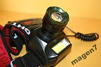 Налобный фонарь Bailong Police BL-6643-T6 100 000W
