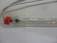 Светодиодная линейка LED SMD 3014 IP65 220V 30 см