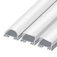 Профиль для светодиодной LED ленты ЛСС 2м ан компл
