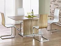 Обеденный прямоугольный стол Halmar Elias с ламинированной столешницей сонома