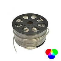 Светодиодная LED лента SMD 5050-60 RGB IP67 220В