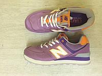 Кроссовки женские New Balance Balance Purple (нью бэлэнс, оригинал)
