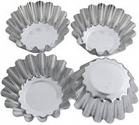 """Набор металлических форм для выпечки кексов """"Корзинка"""" ЕМ 8673 Empire"""