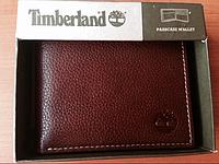 Кожаный кошелек Timberland коричневый оригинал