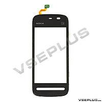 Тачскрин (сенсор) Nokia 5228 / 5230 / 5233 / 5235, черный