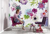 Komar 8-911 Fleurs de Paris Фотообои на стену «Цветочные обои. Цветы Парижа»