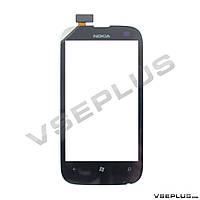 Тачскрин (сенсор) Nokia Lumia 510, черный