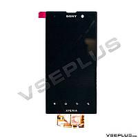 Дисплей (экран) Sony LT28h Xperia ion / LT28i Xperia Ion, черный, с сенсорным стеклом