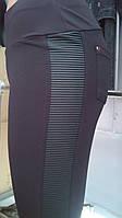 Лосины женские байка, эластик+кожа, размеры S M L XL, №7362