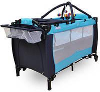 Кроватка детская туристическая Stemplariusz Moolino DKP 625