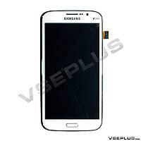 Дисплей (экран) Samsung I9152 Galaxy Mega 5.8 Duos, белый, с сенсорным стеклом