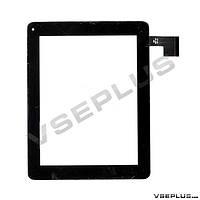 Тачскрин (сенсор) под китайский планшет Digma iDsD8 / Assistant AP-804, QSD 8007-03, черный, 8.0 inch