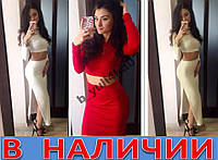 Женский костюп топ+юбка Adam's!!!!! ХИТ СЕЗОНА!!!