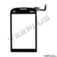 Тачскрин (сенсор) ZTE N760, черный