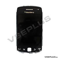 Дисплей (экран) Blackberry 9380, черный, с сенсорным стеклом