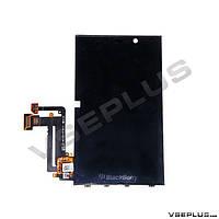 Дисплей (экран) Blackberry Z10, черный, с сенсорным стеклом