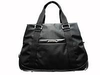 Дорожная сумка Dolly Долли 775-50444 на три отделения черная из полиэстера Украина