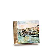 Шкатулка-книга на магните с 4 отделениями Мост Риальто
