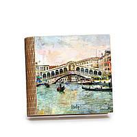 Шкатулка-книга на магните с 9 отделениями Мост Риальто