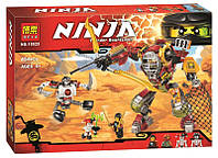 """Детский конструктор Bela Ninja 10525 """"Робот Ронина"""" 454 дет"""