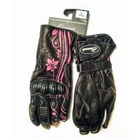 Мотоперчатки Elemento 204 Ladies Gloves Blk/Pnk, L