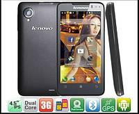 "Смартфон Lenovo P770 -4.5"" ,2Sim, батарея 3500mah, 3G, Ram 1Gb"