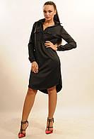 Красивое женское платье-рубашка осень 2016