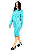 Стильное вязанное платье Шанель (5 цветов), фото 1