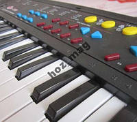 Детское пианино 3738 с микрофоном