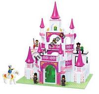 Конструктор Замок принцессы 508 дет Sluban 0151