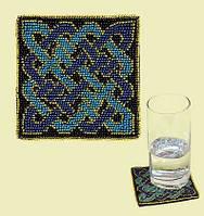Набор для вышивания крестом «Подставка под стакан Для джентельмена» (1213), Риолис