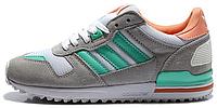 Женские кроссовки Adidas ZX 700 (aдидас ZX) серые