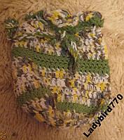Ручная работа мешок косметичка вазяная сумка