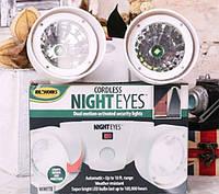 Фонарь с Датчиком Движения Cordless Night Eyes