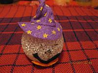 Прикол ТЫКВА  хеллоуин игрушка на палец кукольный