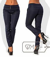 Стильные женские брюки с широким поясом