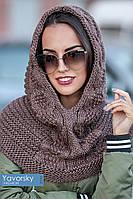Женский стильный капор-хомут (расцветки)
