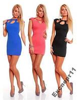Сексуальное платье 3-х цветов Амести