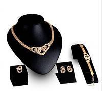 Кулон серьги браслет кольцо - 2 вида (на выбор)