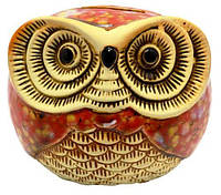 Копилка сова из керамики 110х100х80