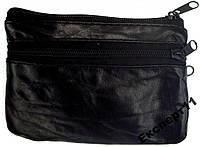 Кошелек - портмоне из мягкой натуральной кожи