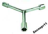 Торцевые ключи - тройник 8-10-12 мм