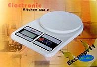 Кухонные электронные весы  SF-400. - до 7 кг